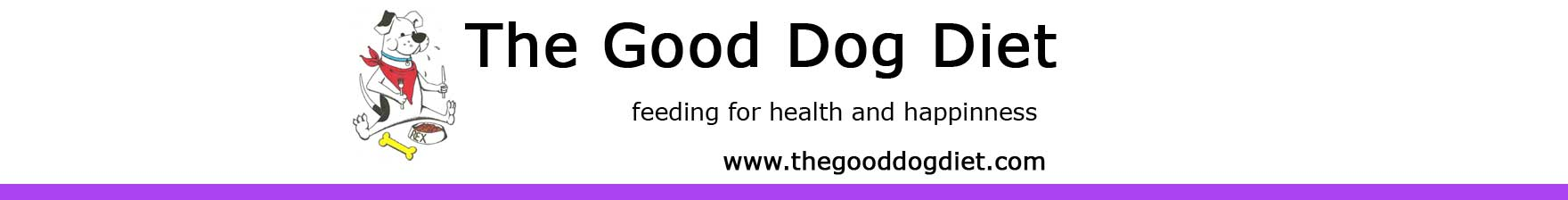 The Good Dog Diet, Book on Diet and Behaviour